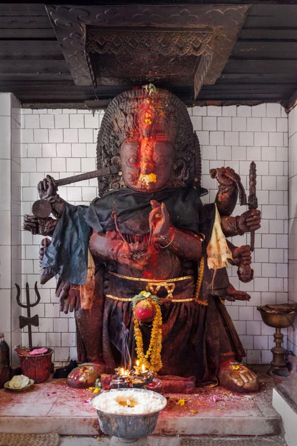 Kali  myter  hindu  COLOURBOX7547218