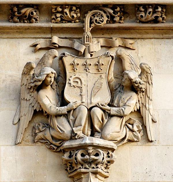 570px Angels relief bell tower Saint Germain l Auxerrois