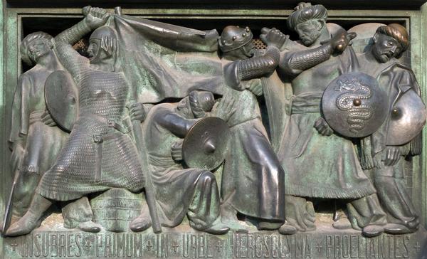 kristendom historie korstog  shutterstock 274506188