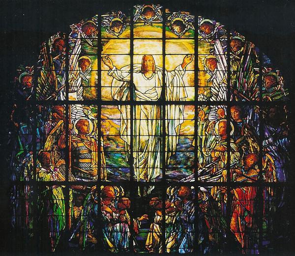 Kristne hoejtider  kristi himmelfart  Ascension window  wiki