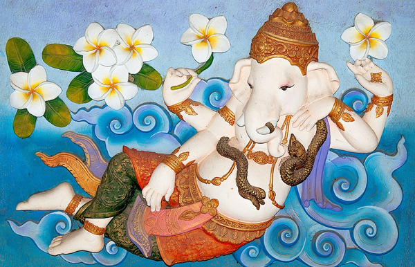 Ganesha  myter  hindu  COLOURBOX7533248