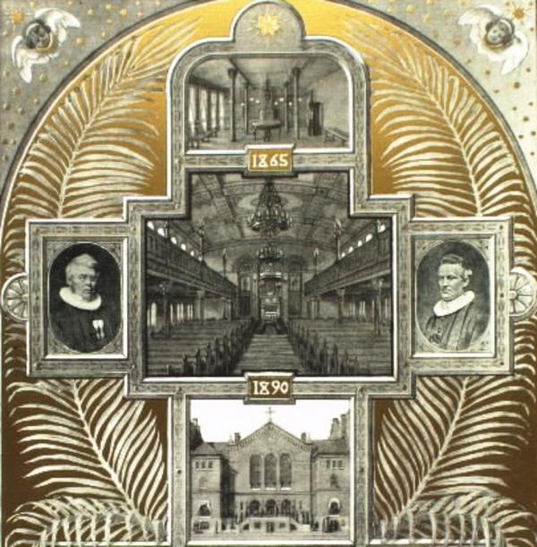 Indre mission  KB  Kirkelig Forening for indre Mission i Roemersgade  Koebenhavn  1890erne