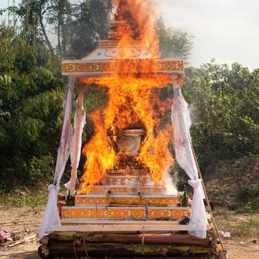 Buddhismens dødsritualer