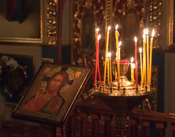 ikon  russisk kirke  COLOURBOX6694845