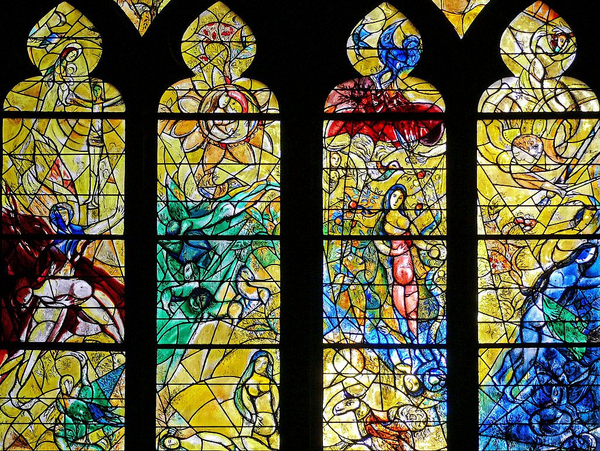 Marc Chagall  Metz   Cathedrale  Wikimedia