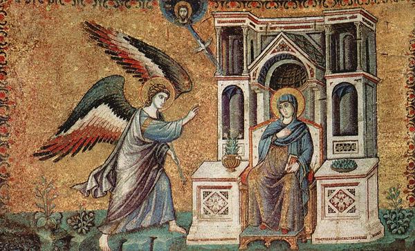 Maria bebudelse  Kristne hoejtider  1024px Pietro Cavallini 013  WIKI